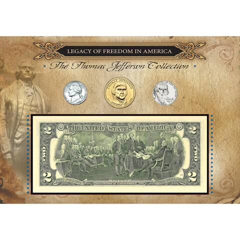 American Coin Treasures Legacy of Freedom Thomas Jefferson Coin Collection
