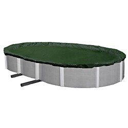 Blue Wave Silver Series Oval Above Ground Winter Pool Cover