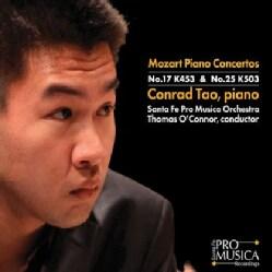 SANTA FE PRO MUSICA ORCHESTRA - MOZART PIANO CONCERTOS: NO. 17 K453 & NO. 25 K503;
