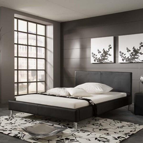 Monte Contemporary Queen Platform Bed