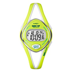 Timex Women's T5K656 Ironman Sleek 50-lap Lime Watch