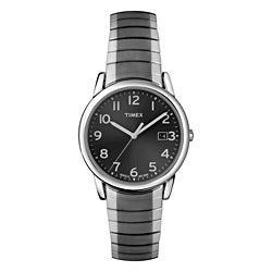 Timex Men's T2N949 Elevated Classics Dress Stainless Steel Expansion Band Watch