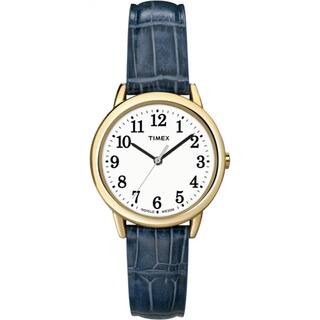 Timex Women's T2N954 Elevated Classics Dress Goldtone Case Leather Strap Watch|https://ak1.ostkcdn.com/images/products/7232859/P14714674.jpg?impolicy=medium