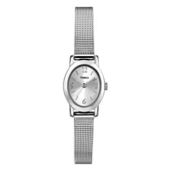 Timex T2N7439J Women's Elevated Classics Mesh Bracelet Watch