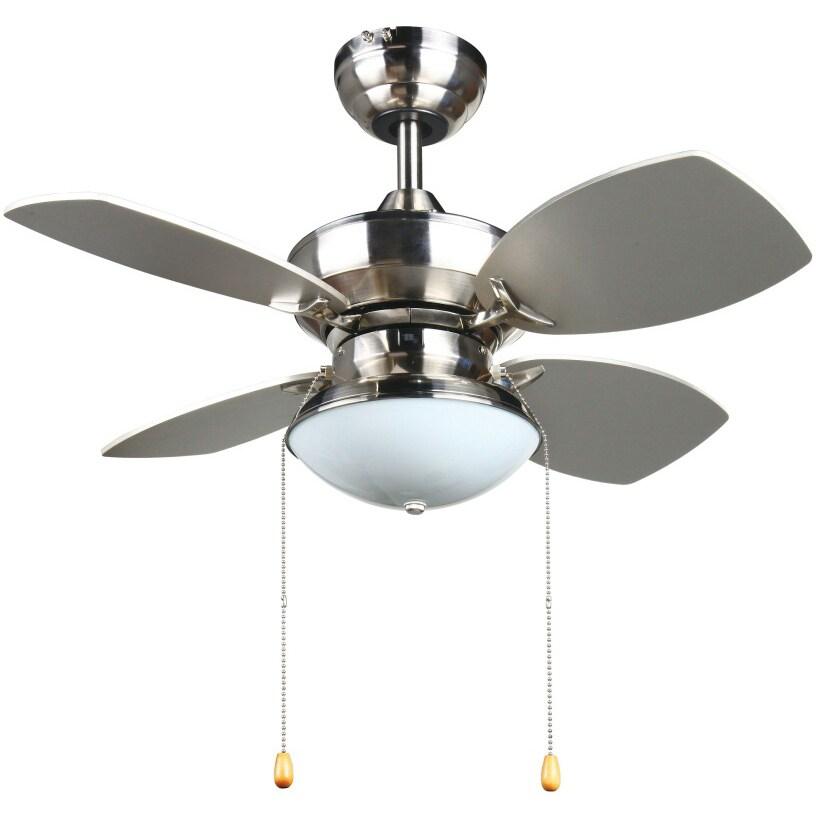 Laurel Creek Thatcher Transitional 28-inch Ceiling fan in...