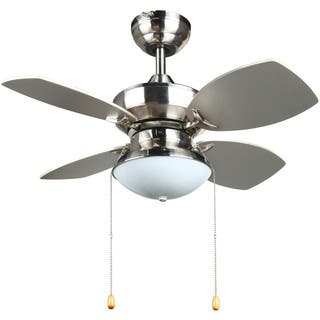 Buy 20 30 inches ceiling fans online at overstock our best laurel creek thatcher transitional 28 inch ceiling fan in brushed nickel mozeypictures Images