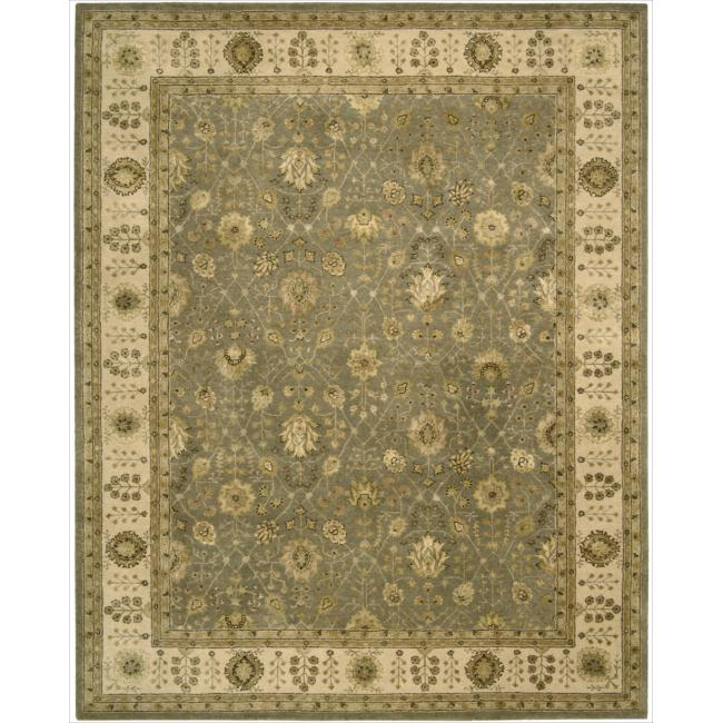 Nourison 3000 Hand-tufted Taupe Rug (3'9 x 5'9)