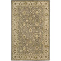 Nourison 3000 Hand-tufted Taupe Rug (5'6 x 8'6)