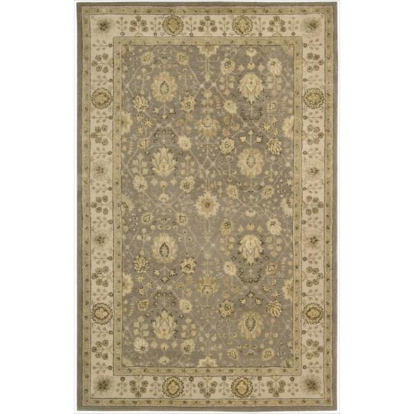 Nourison 3000 Hand-tufted Taupe Rug (5'6 x 8'6) - 5'6 x 8'6