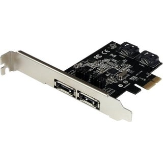 2 Port PCI Express SATA 6 Gbps eSATA Controller Card - D