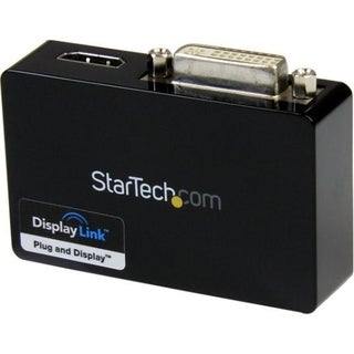 StarTech.com USB 3.0 to HDMI? and DVI Dual Monitor External Video Car