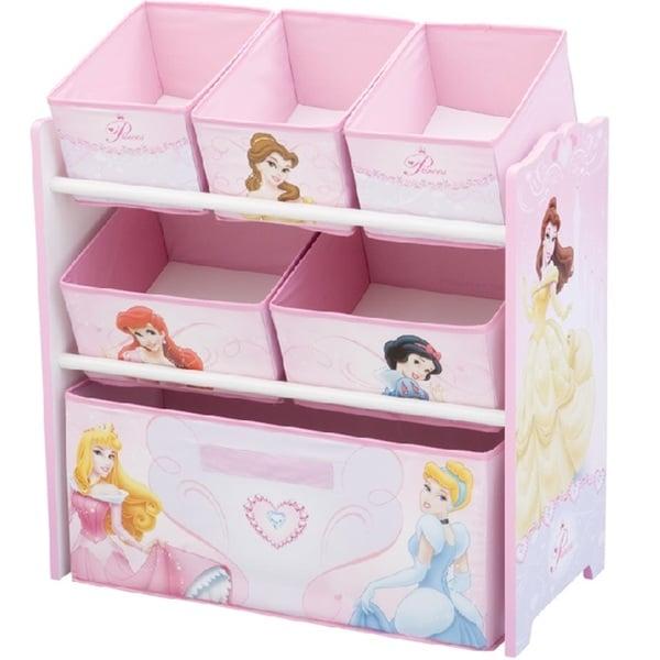 Disney Princess Multi Bin Toy Organizer Free Shipping