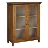 Chamberlain Double Door Floor Cabinet by Elegant Home Fashions