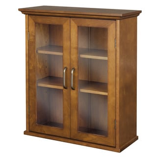 Elegant Chamberlain Wall Cabinet by Essential Home Furnishings
