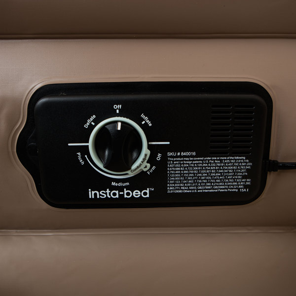 instabed raised twin airbed with never flat pump free shipping today
