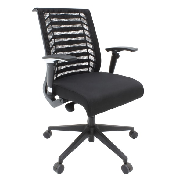 Eclipse Black Swivel Office Chair
