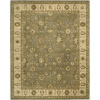 Nourison 3000 Hand-tufted Taupe Rug (7'9 x 9'9) - 7'9 x 9'9