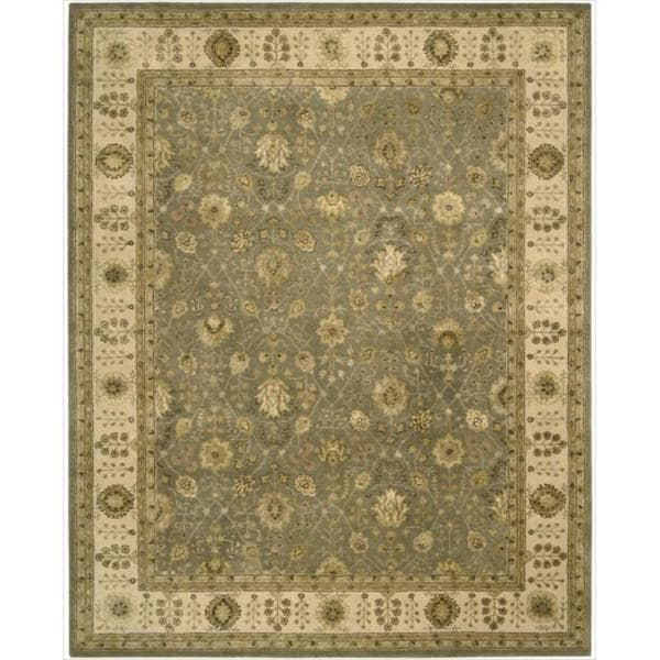 Nourison 3000 Hand-tufted Taupe Rug - 7'9 x 9'9