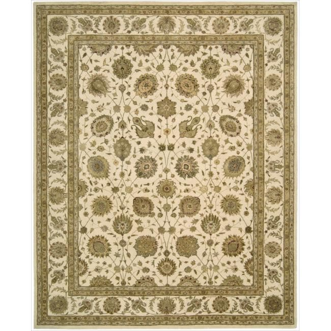 Nourison 3000 Hand-tufted Ivory Rug (7'9 x 9'9)