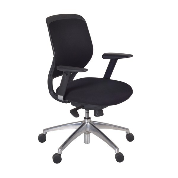 Axis Black Swivel Office Chair
