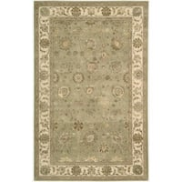 Nourison 3000 Hand-tufted Green Rug - 9'9 x 13'9