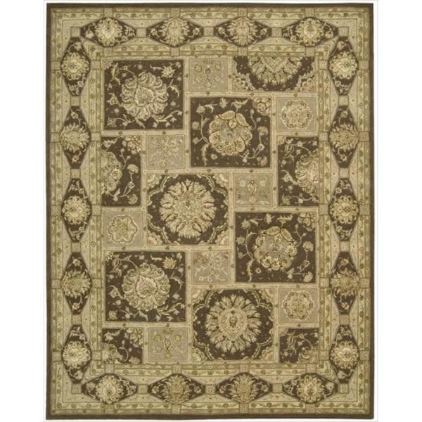 "Nourison 3000 Hand-Tufted Brown Area Rug (9'9"" x 13'9"")"
