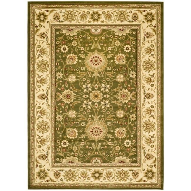 Safavieh Lyndhurst Traditional Oriental Sage/ Ivory Rug (4' x 6')