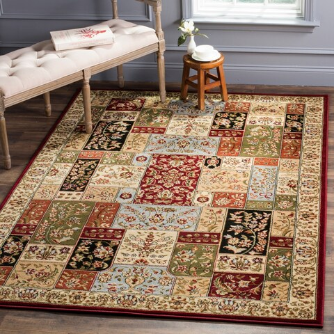 Safavieh Lyndhurst Collection Traditional Multicolor/ Ivory Rug - 4' x 6'
