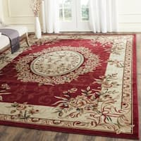 Safavieh Lyndhurst Traditional Oriental Red/ Ivory Rug - 9' x 12'