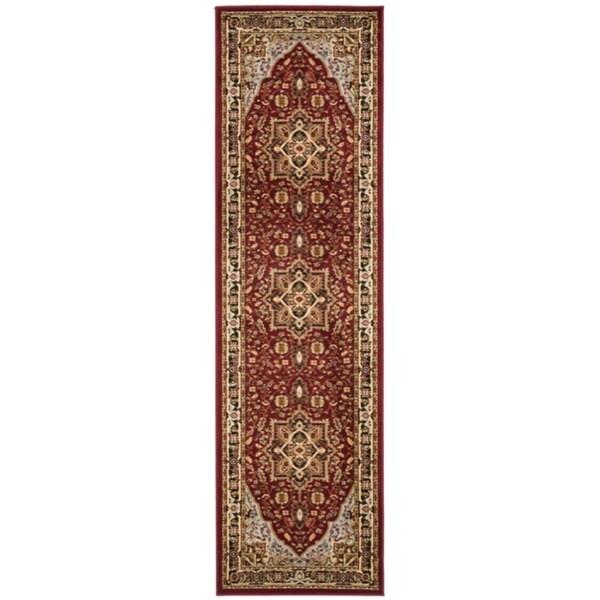 Safavieh Lyndhurst Collection Red/ Black Rug (2'3 x 22') Safavieh Runner Rugs