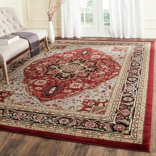 Safavieh Lyndhurst Traditional Oriental Red/ Black Rug (9' x 12')