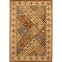 Safavieh Handmade Heritage Traditional Bakhtiari Beige Wool Rug (5' x 8')