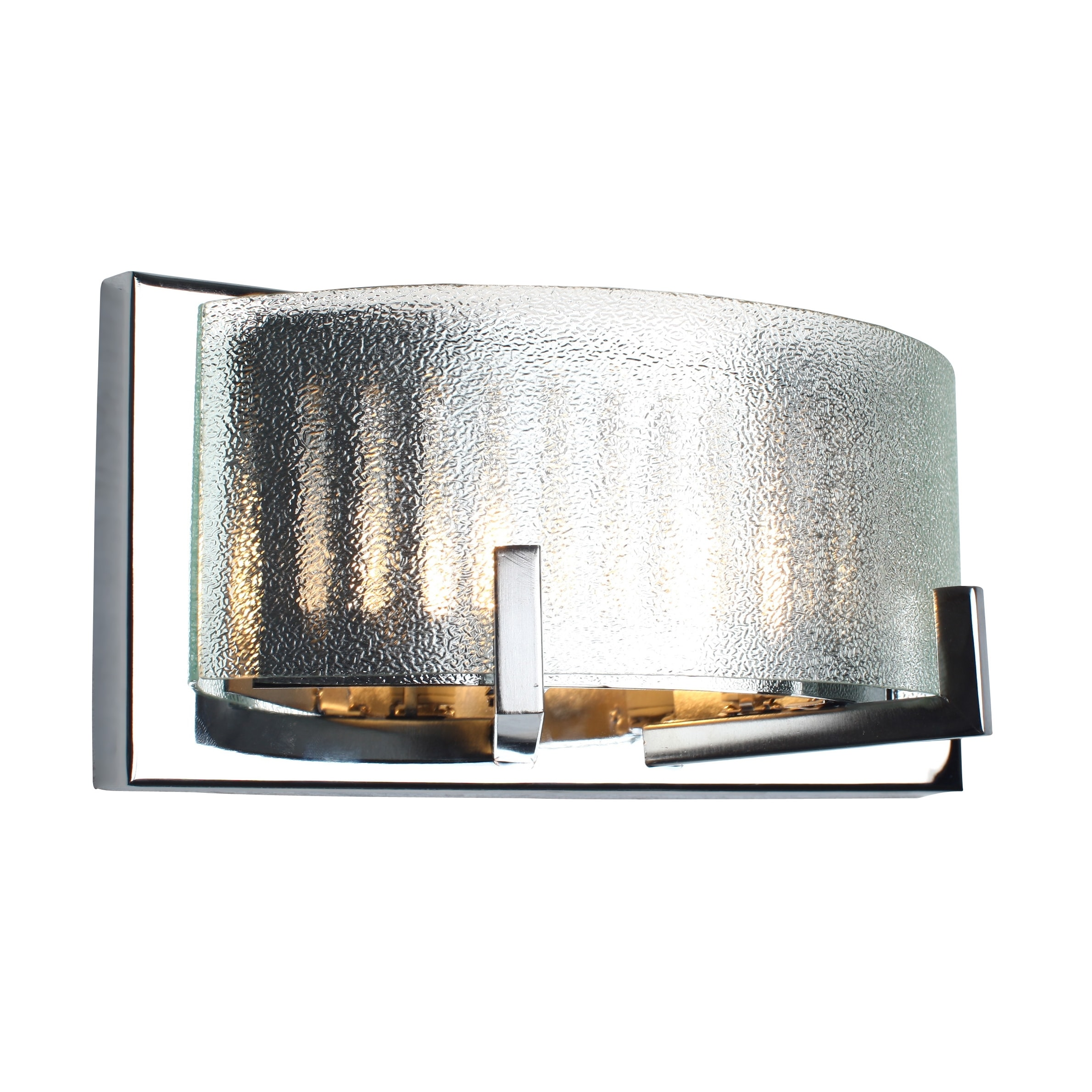 Alternating Current Firefly 2-light Chrome Vanity Fixture