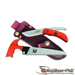 Outdoor Edge SZP-1 SwingBlaze Hunting Knife Set
