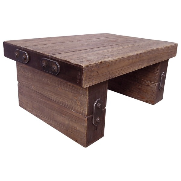 Rustic Forge Large Coffee Table Free Shipping Today 14715399