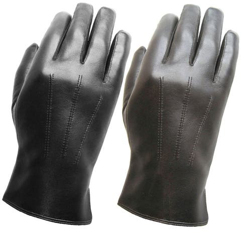 3179a33b9 Buy Leather Men's Gloves Online at Overstock | Our Best Gloves Deals