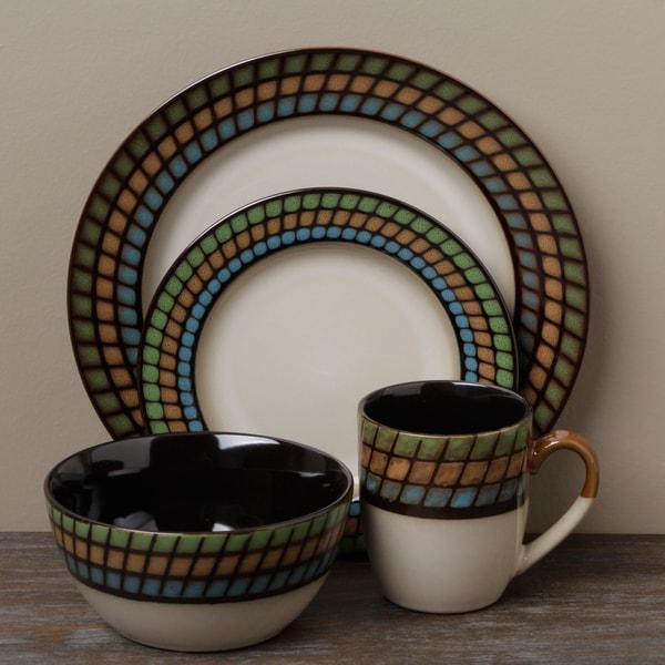 Tabletop Unlimited 'Lison' 16-piece Dinnerware Set