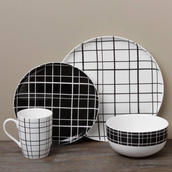 Tabletop Gallery 'Mystique' 16-piece Dinnerware Set