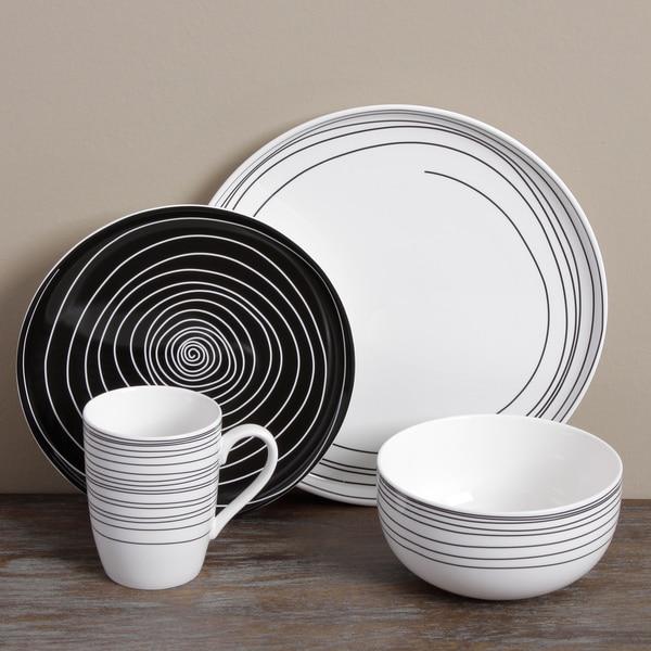Tabletops Unlimited Wildwood 16pc Dinnerware Set