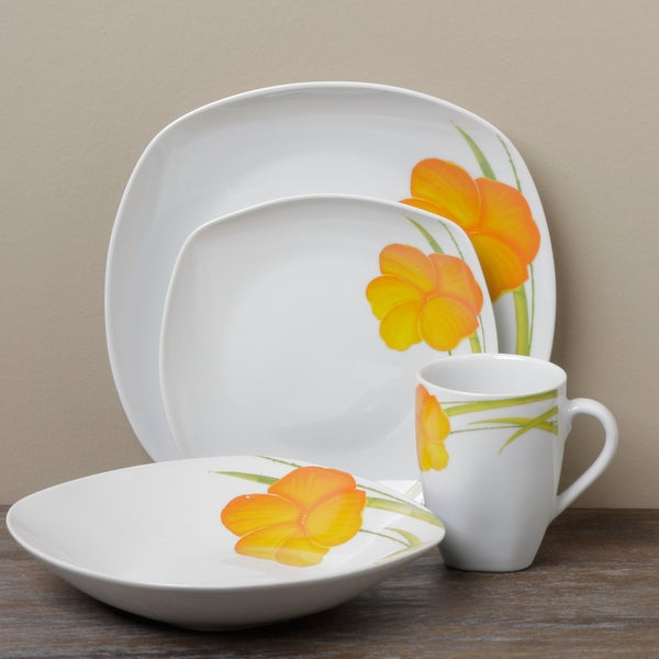 Tabletop Gallery 'Messina 16-piece Dinnerware Set