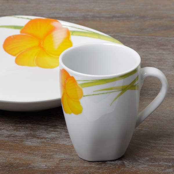 Tabletop Gallery U0027Messina 16 Piece Dinnerware Set   Free Shipping On Orders  Over $45   Overstock.com   14715481