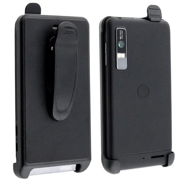 BasAcc Black Swivel Holster for Motorola Droid 3 XT862