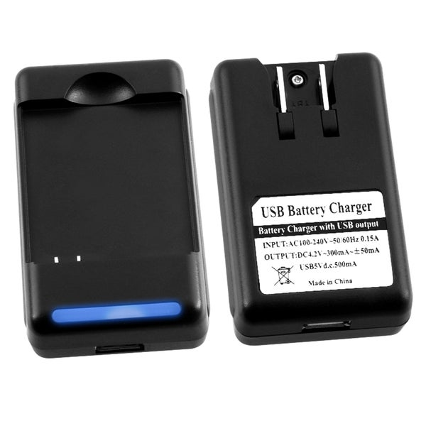 BasAcc Battery Desktop Charger for Motorola Droid 2