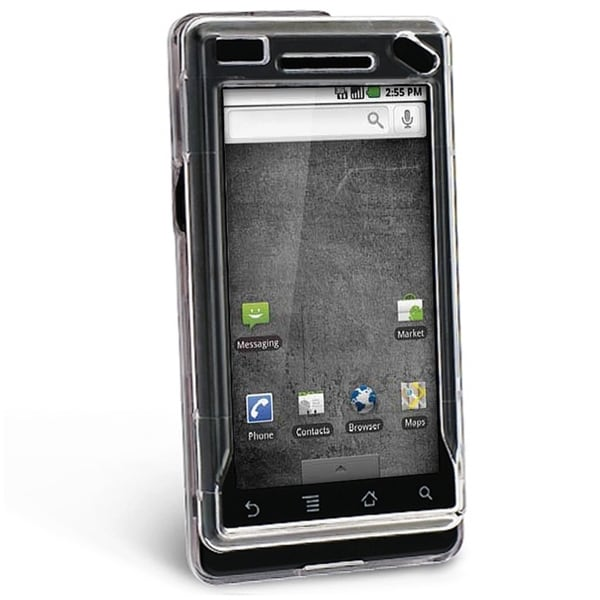 BasAcc Crystal Snap-on Case for Motorola A855 Droid
