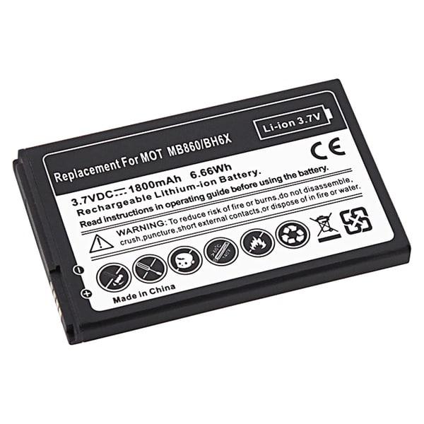 INSTEN Compatible Li-ion Battery for Motorola MB860 ATRIX 4G
