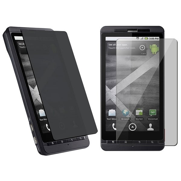 BasAcc Privacy Filter Screen Protector for Motorola Droid Xtreme MB810