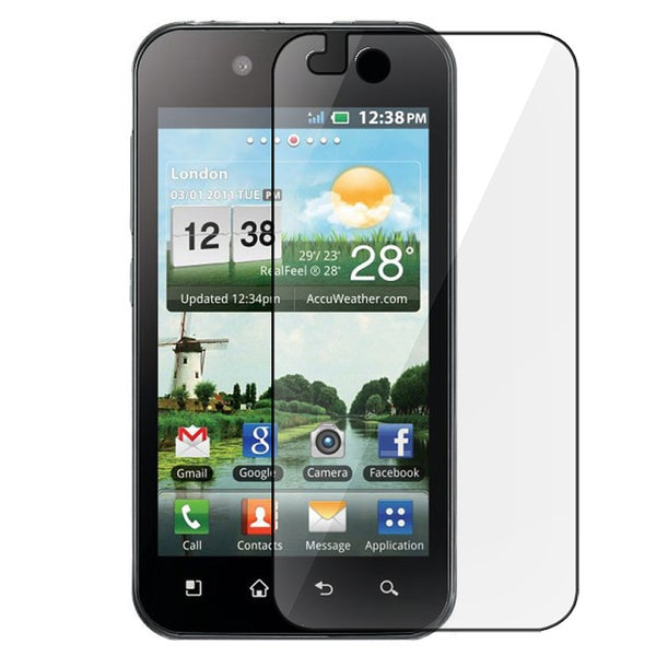 INSTEN Clear Screen Protector for LG Optimus P970