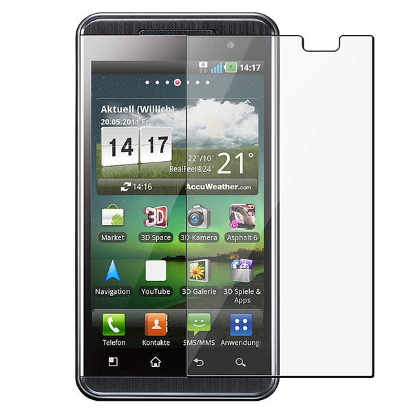 INSTEN Clear Screen Protector for LG P920 Thrill 4G