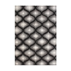 Alliyah Handmade Black New Zealand Bled Wool Rug (8' x 10')