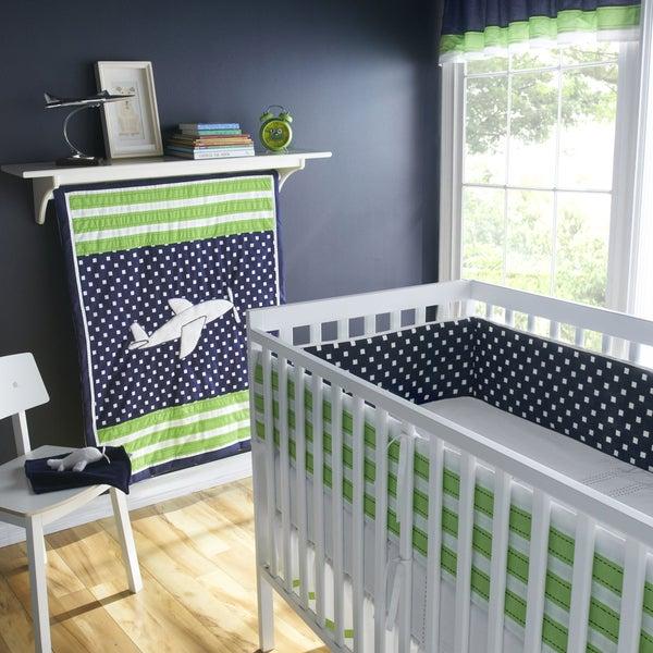 Victoria Classics Up and Away 5-piece Crib Bedding Set